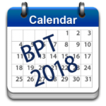 CALENDAR OF EVENTS BPT 2018